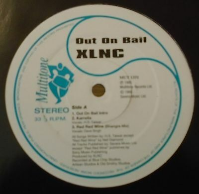 "XLNC ~ Out On Bail ~ 6 TRACK 12"" Single"