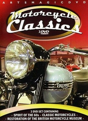 Motorcycle Classics [New DVD] Full Frame, Dolby