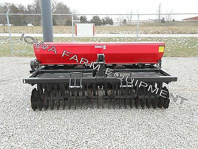 Overseeder, Inner Seeder Drill, No/Min Till Drill, Planter: 8' Kasco Vari Slice