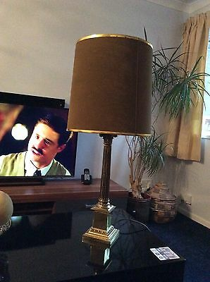 Tall Vintage Table lamp- Stunning ITEM -Cardiff Collection Only