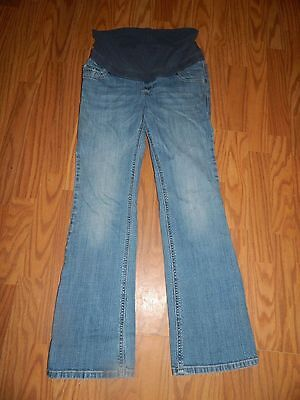 Old Navy Maternity Roll Panel Boot Cut Jeans Size 4 10129