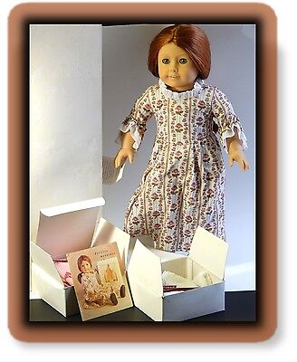 American Girl First Felicity Merriman 1991 Red head Vintage Box Accessories Doll