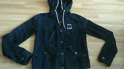 Ladies/girl's Cotton Short Jacket By Hollister Size M Great Condition