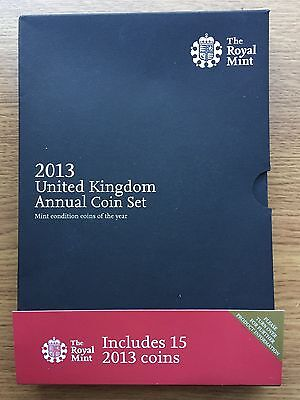 2013 15 Coin Annual Set Royal Mint Collectors Edition Brilliant Uncirculated