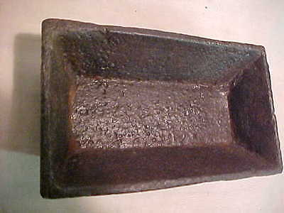 """Vintage 1800""""s Lancaster County Pa Chick Cast Iron Feed Trough"""