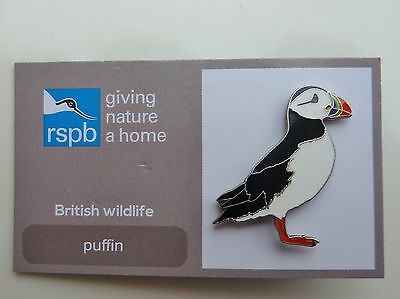 Rspb Pin Badge Puffin  On Giving Nature A Home