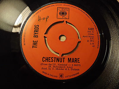 The Byrds.....Chesnut Mare.......45rpm