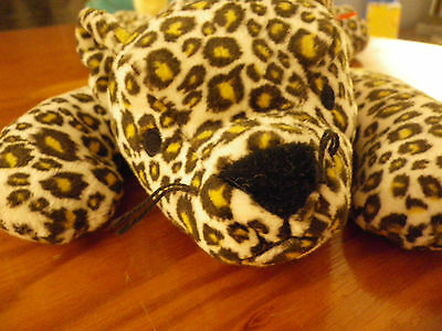 TY 'The Pillow Pals Collection' for babies SPECKLES the Leopard