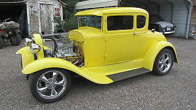 1930 Ford Model A  1930 Ford Model A 5 window coupe hotrod hot rod