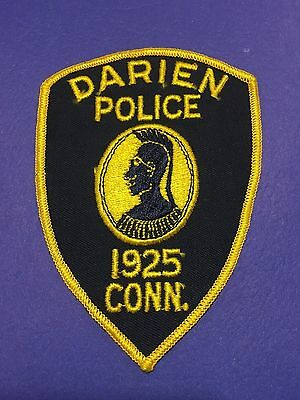 Darien  Connecticut  Police  Shoulder Patch