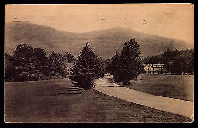 Postcard : New Hampshire - Waterville Valley Nh - Approach To Inn Mt. Osceola