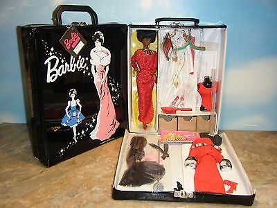 My Favorite Black Barbie Doll, Fashions, Doll Stand & Doll Case