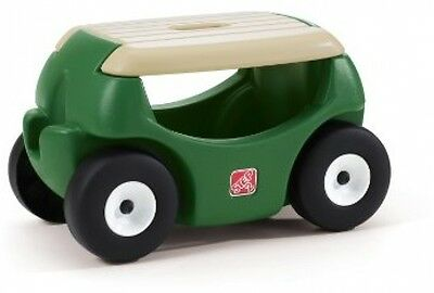 Step Two Garden Hopper 7-Inch Smooth Rolling Wheels on Grass Seat Handle Storage