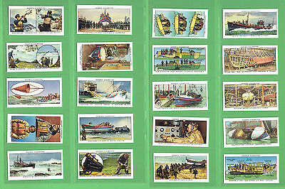 #t12. 1988  Authorised Reproduction Of The Story Of Life Boats Cigarette  Cards
