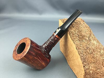 Poul Winslow Crown Viking Pfeife pipe pipa 9mm Filter Handmade in Denmark