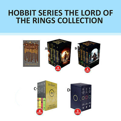 Hobbit Series The Lord Of The Rings Collection  Set By J. R. R. Tolkien PACK