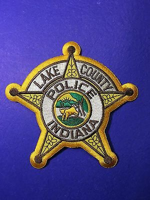 Lake County Indiana Police   Shoulder Patch