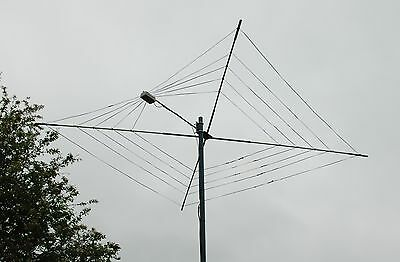 New Cobweb High Power 1.5Kw  Antenna Twin Wire Custom Built 10-12-15-17 And 20