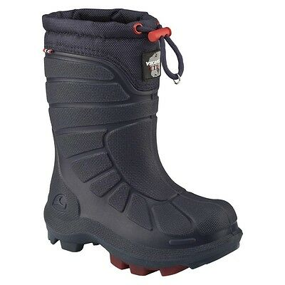 Viking Extreme Kids winter boots, navy - red