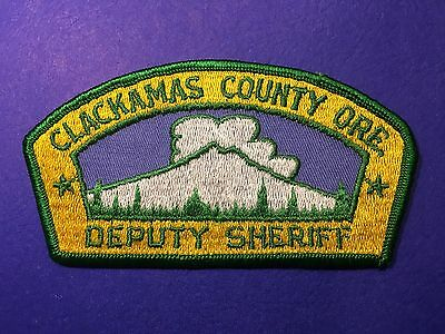 Clackamas County Oregon  Shoulder  Patch   Used