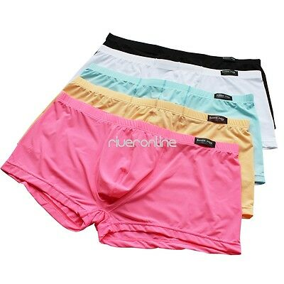 Men's Athletic Compression Boxer Shorts Briefs Underwear Tight Gym Sports Pants