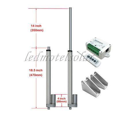 "14"" 12V Heay Duty Multipurpose Linear Actuator & Remote Control Controller"