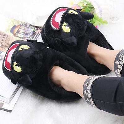 How to Train Your Dragon Toothless Night Fury plush slippers 11inch