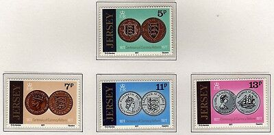 Jersey 1977 Centenary of Currency Reform SG 171-174 MNH