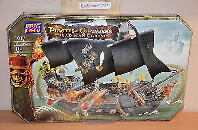 Mega Bloks 1017  Black Pearl aus Pirates of the Caribbean Fluch der Karibik #