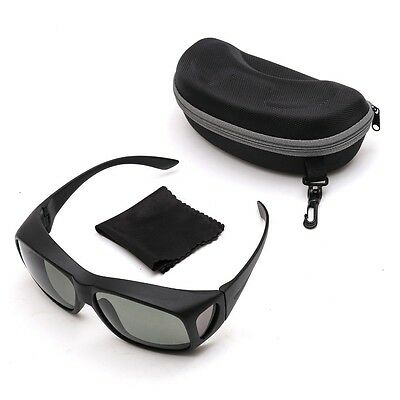 Grey Lens Over Fit Polarised Sunglasses