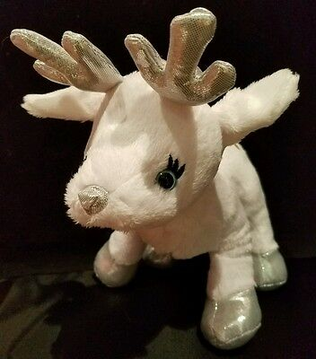 Webkinz PLUSH ONLY -  FROSTY FAWN - JUST THE  PLUSH !!!!!!!