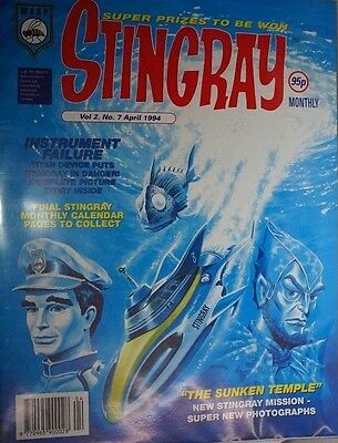 Stingray - The Comic. Vol 2 No.7. April 1994. ITC.