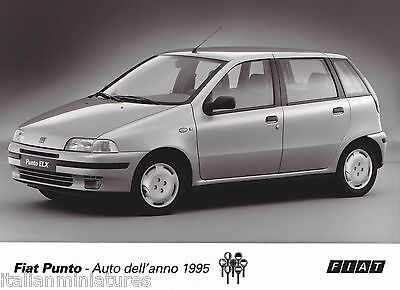 Fiat Punto 90 ELX Car of the Year 1995  Photograph MINT