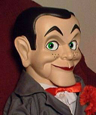 "CREEPY Ventriloquist doll ""EYES FOLLOW YOU"" Slappy dummy puppet oddity prop"