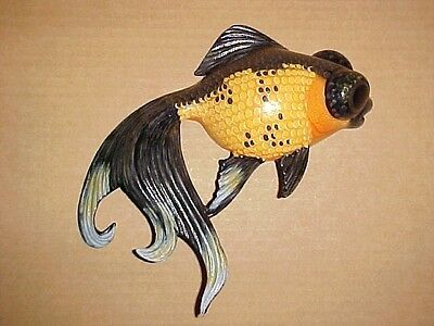 "6"" GOLDFISH Wall Hanging Decor Tropical Beach Bath Nursery Spa Aquatic"