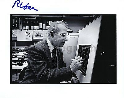 Richard Garwin - Atomic Bomb Designer - Authentic Autographed 8x10 Photograph