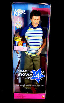 Nib Barbie Doll 2000 Ken Movie Date