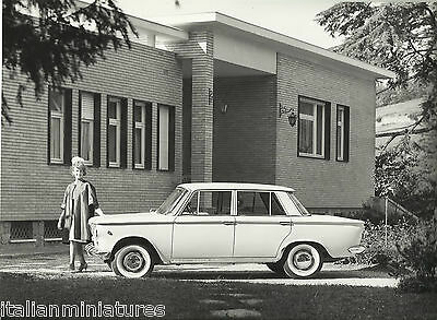 Fiat 1300/1500 1960's Fashion Period Clothing Lady in Coat and Hat