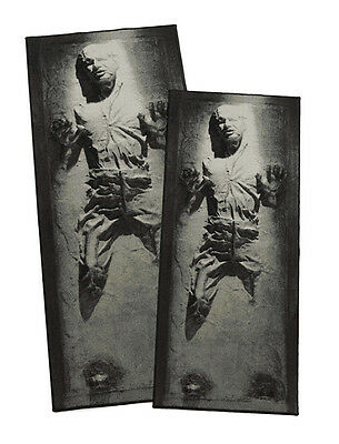 """Star Wars: Han Solo in Carbonite Rug - Han Solo Large/X-Large Rug 39"""" x 90 1/2"""""""