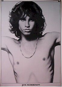 THE DOORS ~ JIM MORRISON CRUCIFIX POSE 24x34 MUSIC POSTER NEW/ROLLED!