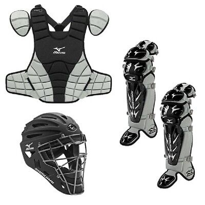 Mizuno Youth Samurai Catchers Gear Box Set Fits Ages 9-12 New In Wrapper!