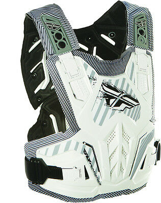 Fly Racing Boys Pivotal Roost Guard Chest Protector White