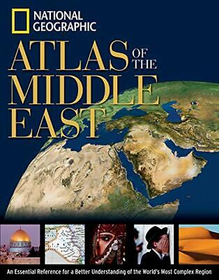 National Geographic Atlas of the Middle East... by National Geographic Paperback