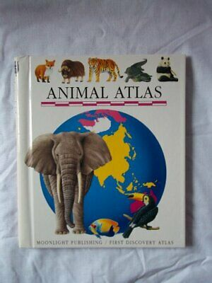 Animal Atlas (First Discovery/Atlas) Paperback Book The Cheap Fast Free Post