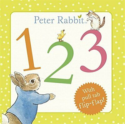 Peter Rabbit 123 (PR Baby books) by Potter, Beatrix Book The Cheap Fast Free