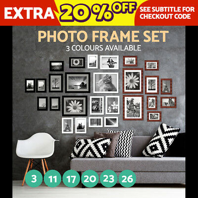 A3/20/23/26 Picture Photo Frame Set Home Wall Decor Art Christmas Gift Present