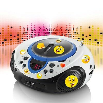 kinder cd radio tragbarer cd mp3 player usb radio. Black Bedroom Furniture Sets. Home Design Ideas