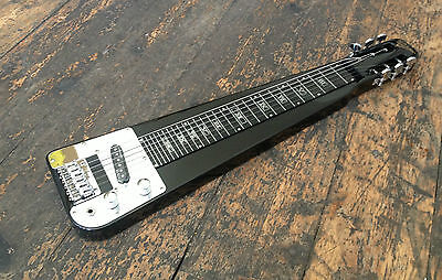 Revelation Electric Lap steel Guitar Metallic Black with Entwhistle XS-62N Pick