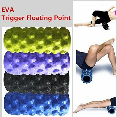 Trigger Point Foam Roller Grid Sports Massage Exercise Yoga Physio Gym 100% New