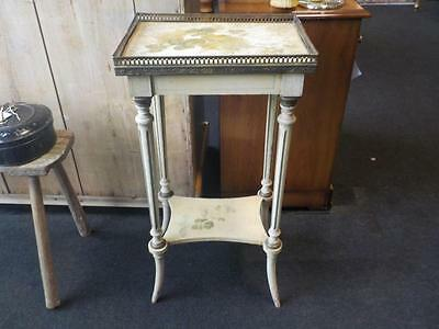 Antique Small Regency Hand painted Table Original Paint 19th Century